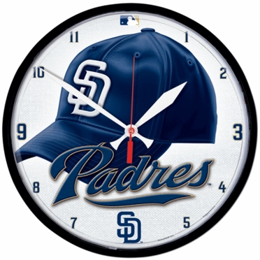 San Diego Padres Wall Clock