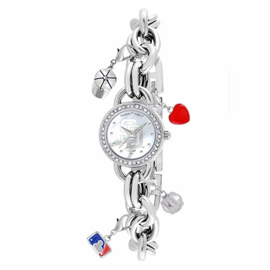 San Diego Padres Women's Charm Watch