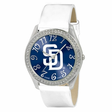 San Diego Padres Women's Glitz Watch