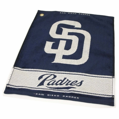 San Diego Padres Woven Golf Towel