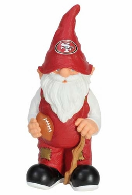 "San Francisco 49ers Garden Gnome - 11"" Male"