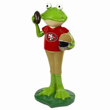 San Francisco 49ers 12 Inch Frog Player Figurine