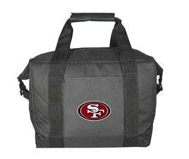 San Francisco 49ers 12 Pack Kolder Cooler Bag