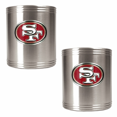 San Francisco 49ers 2 Can Holder Set