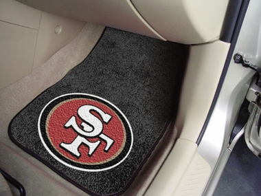 San Francisco 49ers 2 Piece Car Mats