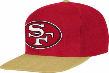 San Francisco 49ers 2-Tone Vintage Snap back Hat