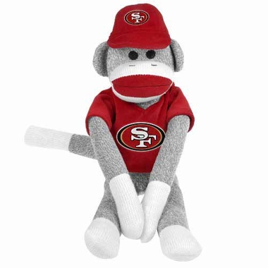 San Francisco 49ers 2013 27 Uniform Sock Monkey