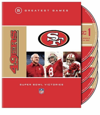 San Francisco 49ers 5 Greatest Games: Super Bowl Victories DVD