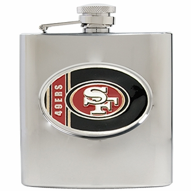 San Francisco 49ers 6 oz. Hip Flask