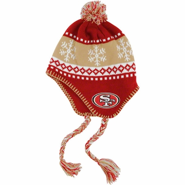 San Francisco 49ers Abomination Tassel Knit Hat