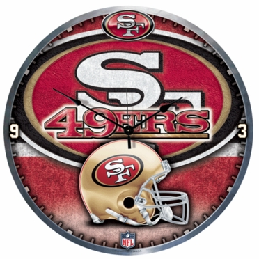 San Francisco 49ers Big 18 Inch Hi Definition Clock