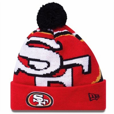 San Francisco 49ers Biggie Cuffed Knit Hat
