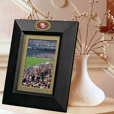 San Francisco 49ers BLACK Portrait Picture Frame