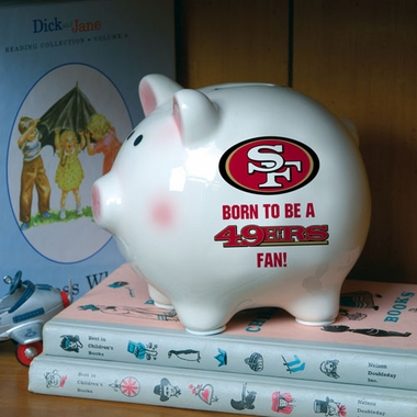 San Francisco 49ers (Born to Be) Piggy Bank