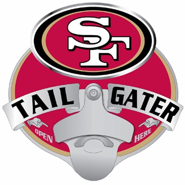 San Francisco 49ers Bottle Opener Hitch Cover