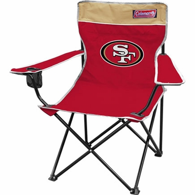 San Francisco 49ers Broadband Quad Tailgate Chair