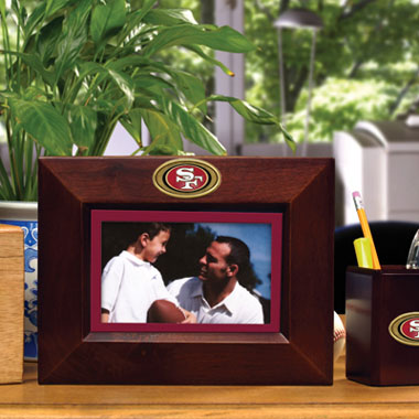 San Francisco 49ers BROWN Landscape Picture Frame