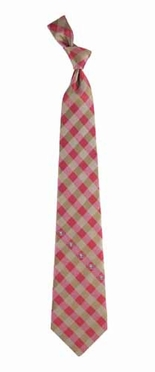San Francisco 49ers Check Poly Necktie