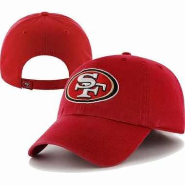 San Francisco 49ers Cleanup Adjustable Hat