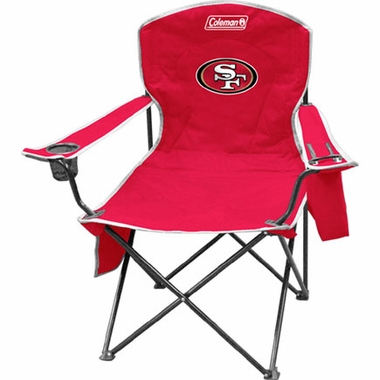 San Francisco 49ers Cooler Quad Tailgate Chair