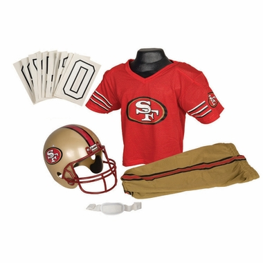 San Francisco 49ers Deluxe Youth Uniform Set