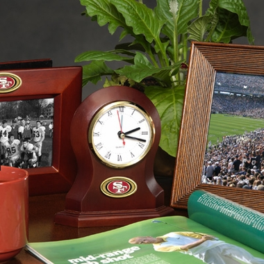 San Francisco 49ers Desk Clock