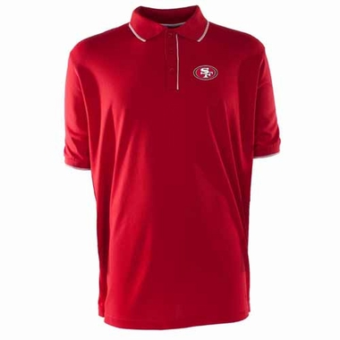 San Francisco 49ers Mens Elite Polo Shirt (Team Color: Red)