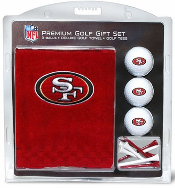 San Francisco 49ers Embroidered Towel Gift Set