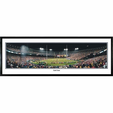 San Francisco 49ers End Zone Framed Panoramic Print