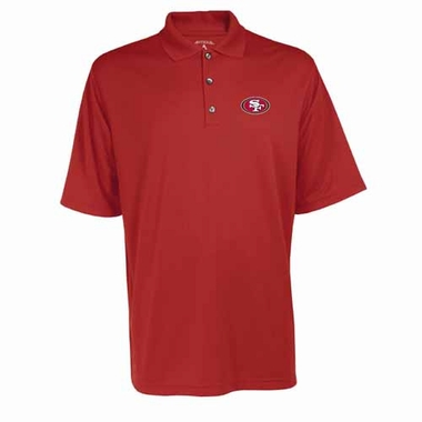 San Francisco 49ers Mens Exceed Polo (Team Color: Red)