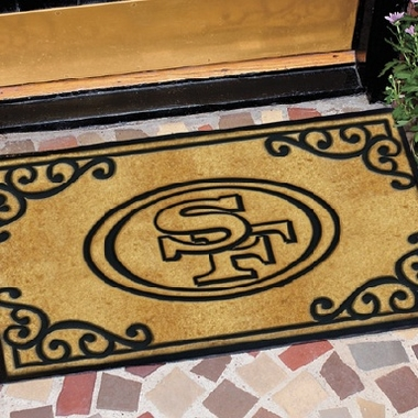 San Francisco 49ers Exterior Door Mat