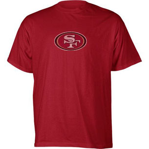San Francisco 49ers Faded Logo T-Shirt - Medium