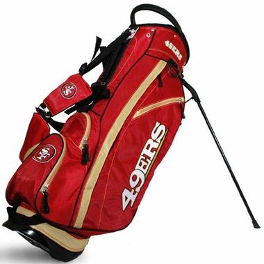 San Francisco 49ers Fairway Stand Bag