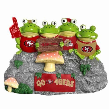 San Francisco 49ers Frog Fan Bench