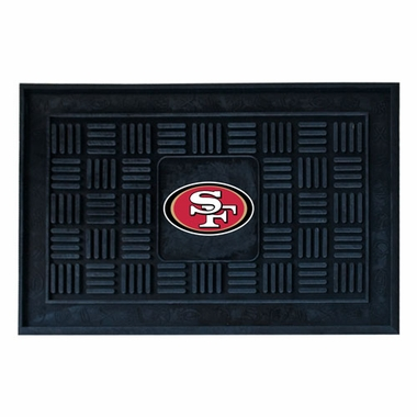 San Francisco 49ers Heavy Duty Vinyl Doormat