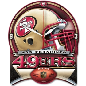 San Francisco 49ers High Definition Wall Clock