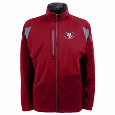 San Francisco 49ers Mens Highland Water Resistant Jacket (Team Color: Red)