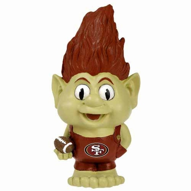 San Francisco 49ers Large Troll Figurine