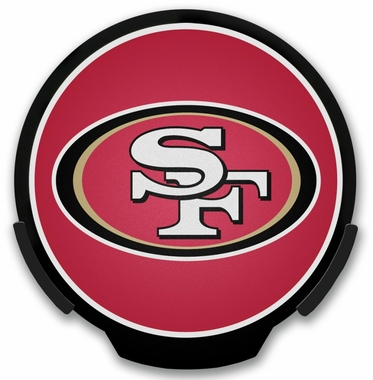 San Francisco 49ers Light Up Power Decal
