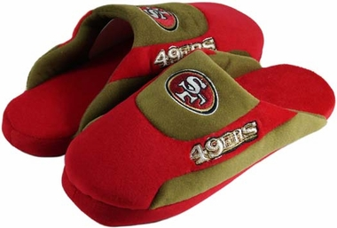 San Francisco 49ers Low Pro Scuff Slippers