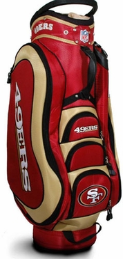 San Francisco 49ers Medalist Cart Bag