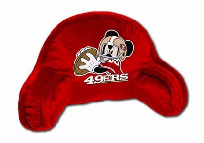 San Francisco 49ers Mickey Mouse YOUTH Bedrest