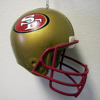 San Francisco 49ers Mini Helmet Ornament