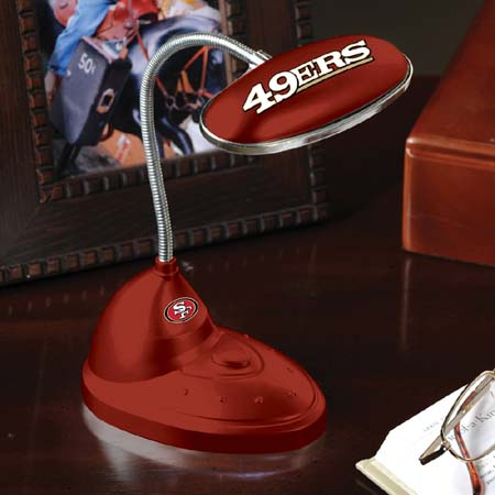 San Francisco 49ers Mini LED Desk Lamp