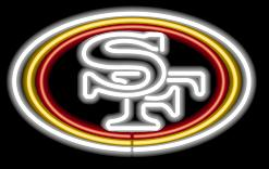 San Francisco 49ers Neon Light