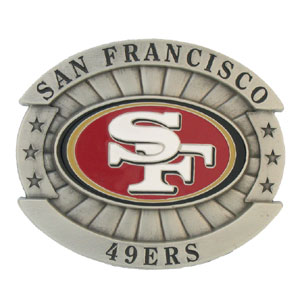 San Francisco 49ers Oversized Belt Buckle