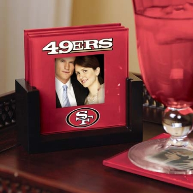 San Francisco 49ers Photo Coaster Set