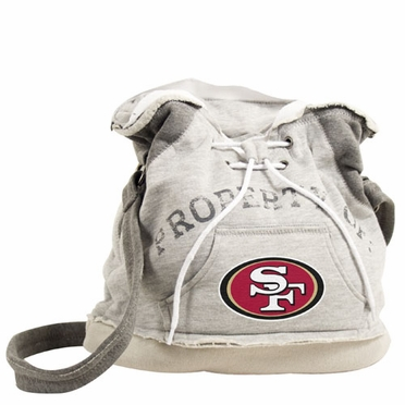 San Francisco 49ers Property of Hoody Duffle