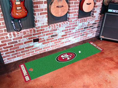 San Francisco 49ers Putting Green Mat