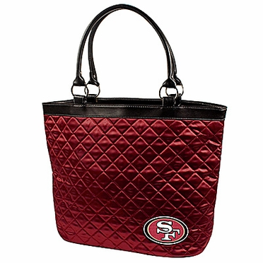 San Francisco 49ers Quilted Tote